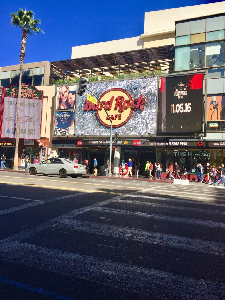 The Hard Rock Cafe, Hollywood
