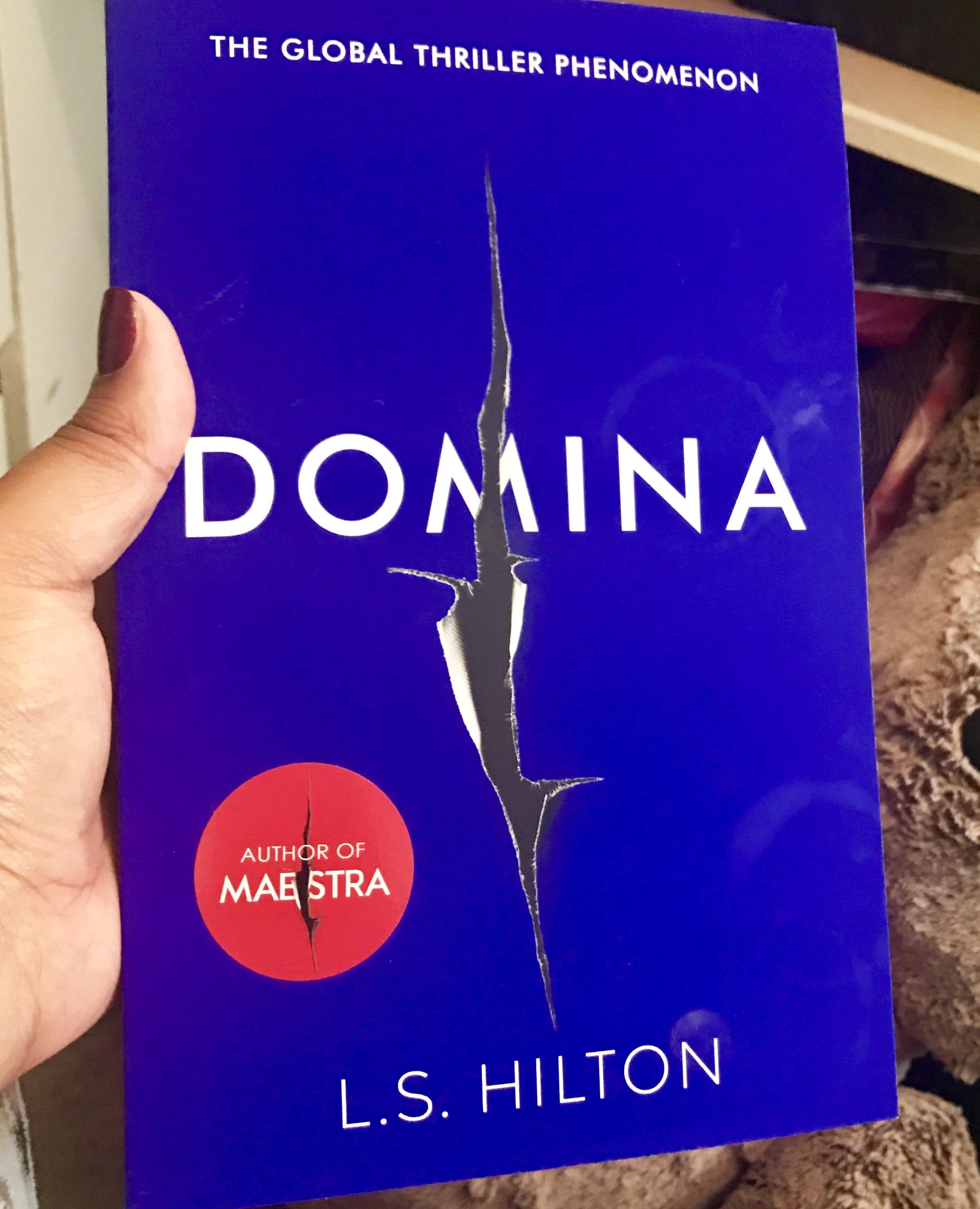 Domina book cover, L.S. Hilton